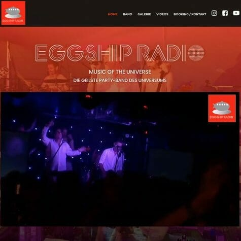 Eggship-Radio, Band