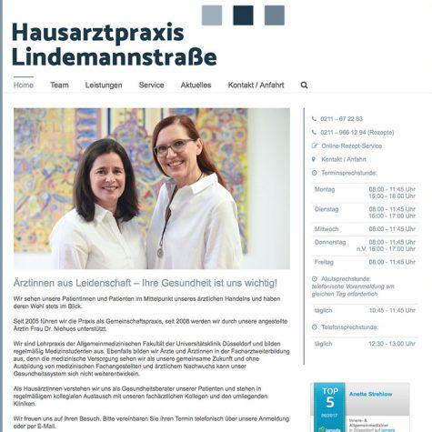 Hausarztpraxis Lindemannstraße