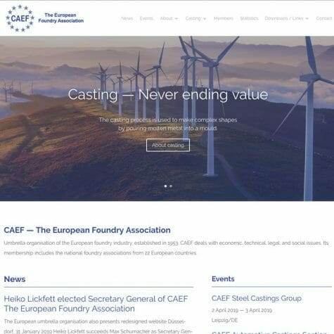 CAEF - The European Foundry Association