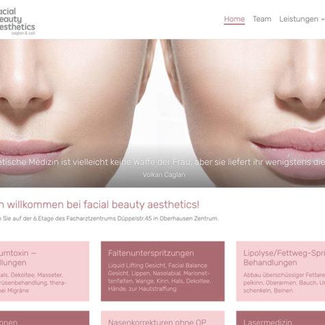 facial beauty aesthetics