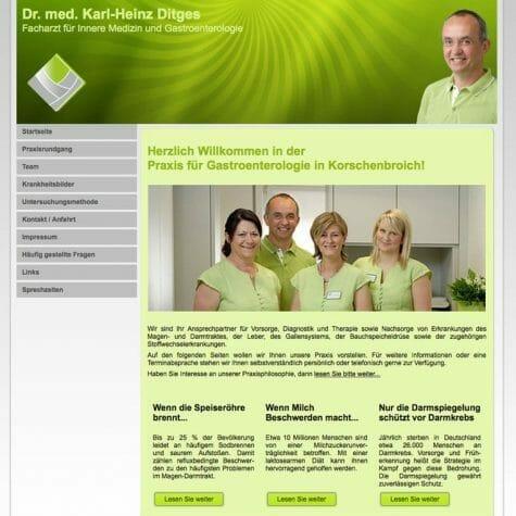 Gastroenterologiepraxis Dr. med. Karl-Heinz Ditges