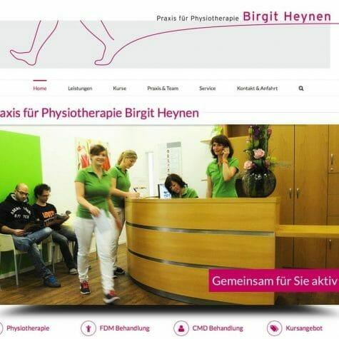 Praxis für Physiotherapie Birgit Heynen