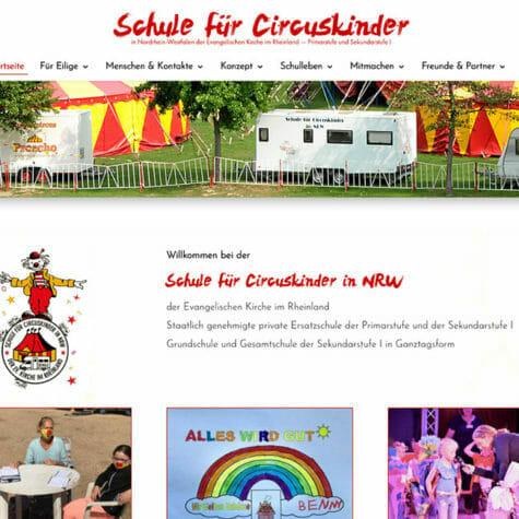 Schule für Circuskinder in NRW